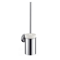 Toilet brush with ceramic holderlo Hansgrohe Logis Classic