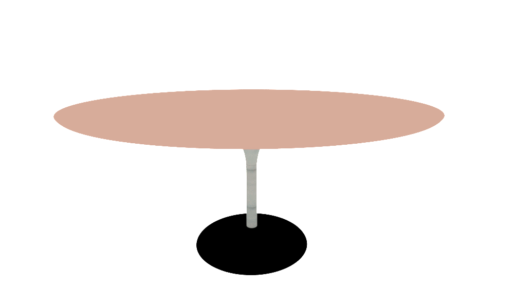 Arper H74cm O59 Base Lm Round Top O158cm Collection Duna Table By Arper Tilelook