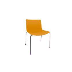Arper Catifa53 chair 4legs wood Arper Catifa 53
