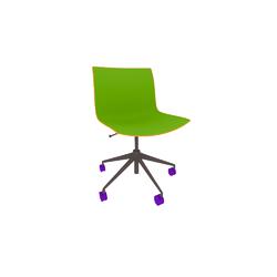 Arper Catifa53 chair 5ways swivel polypropylene  Arper Catifa 53