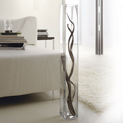 Floor big glass vase Adriani & Rossi Volume 7