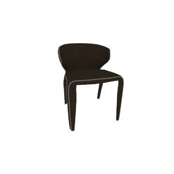 C015 CLIO SEDIA 57X58 H77 TORTORA Natuzzi Night & Day Furniture