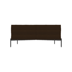 AMBER CASS.BASSA 162X53H70 PELTRO-NOCE  Natuzzi Night & Day Furniture