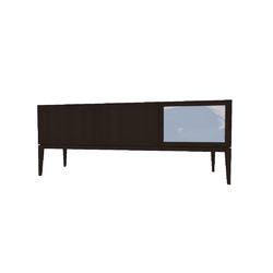 LEGGERO MADIA 200X50 H79 ROV.AFFUM/TRASP  Natuzzi Night & Day Furniture