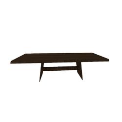 PHANTOM TAV.260X100 H74 NOCE-TRASPARENTE  Natuzzi Night & Day Furniture