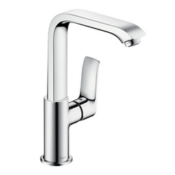Single lever basin mixer - Collection Metris by Hansgrohe | Tilelook
