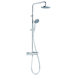 KLUDI A-QA s Thermostat Dual Shower System DN 15   Kludi Kludi A-Qa