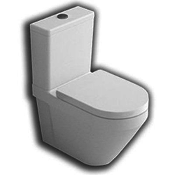 YXV6 Daytime back to wall universal outlet coupled wc Hatria Daytime Evo