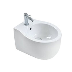 Y1BP Le Fiabe 50 one hole wall hung bidet Hatria Le Fiabe