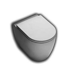 YXVD Fusion back to wall wc universal outlet Hatria Fusion