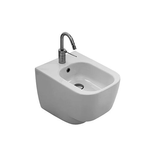 Yxj8 One Hole Wall Hung Bidet Collection Fusion 48 By Hatria