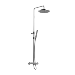External thermostatic shower column, Giulini Rubinetteria Surf