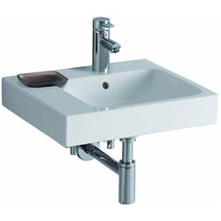 ASYMMETRICAL WASHBASIN 50 LEFT  Pozzi-Ginori Metrica