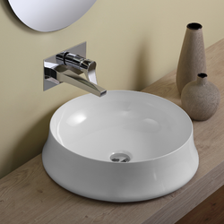 Round countertop washbasin Simas Sharp