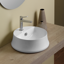 Round counter top wash basin Simas Sharp