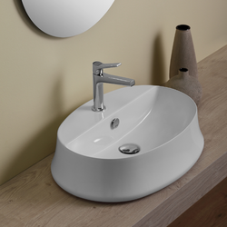 Oval counter top wash basin  Simas Sharp