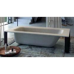 Concrete bath Glass 1989 Home Wellness