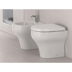 Clear Floor standing WC CLE110301 Olympia Clear