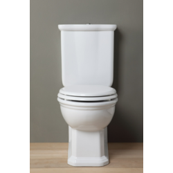 Impero Close coupled ceramic toilet  IMP130301+IMP71PF201 Olympia Impero