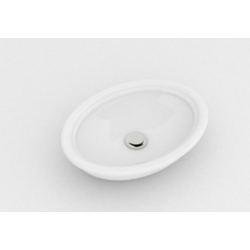 Impero Countertop oval ceramic washbasin IMP4060001 Olympia Impero