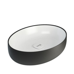 Metamorfosi Oval countertop washbasin MET42060 Olympia Metamorfosi