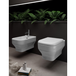 Synthesis Wall-hung ceramic toilet  SYN120201 Olympia Synthesis