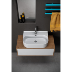 Synthesis Countertop ceramic washbasin  SYN4360101 Olympia Synthesis