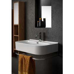 Synthesis Wall-mounted ceramic washbasin SYN4370101 Olympia Synthesis