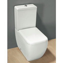WATER CLOSET WITH CISTERN MULTI TRAP Rak Ceramics Metropolitan