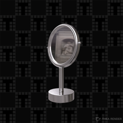 Small round mirror Tilelook Generic Accessories