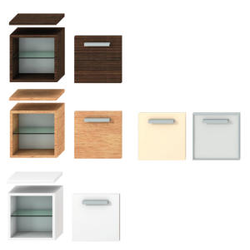 SHALLOW CABINET BODY, LEFT/RIGHT DOOR Jika Cubito