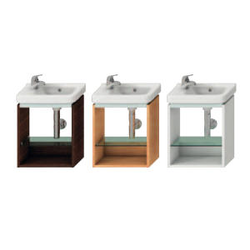 VANITY UNIT FOR ASYMMETRIC SMALL WASHBASIN 45 CM Jika Cubito
