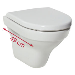 WALLHUNG WC, WASHDOWN Jika Tigo