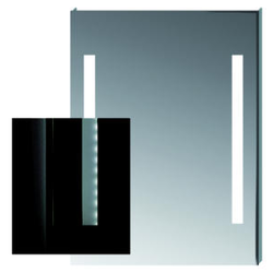 MIRROR WITH LED LIGHTING Jika Clear
