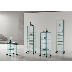 Dappertutto h98 - Collection Exhibitor Bookcases by Tonelli Design | Tilelook