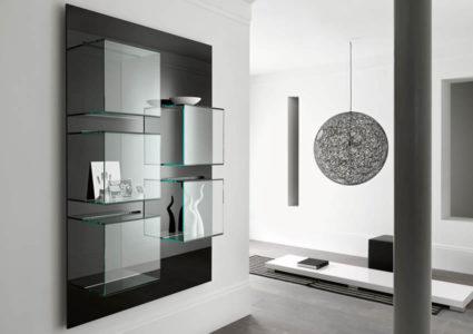 Dazibao verticale - Collection Exhibitor Bookcases by Tonelli Design | Tilelook