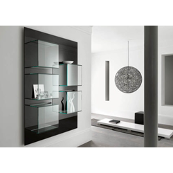 Dazibao verticale - Collection Exhibitor Bookcases by Tonelli Design | Tilelook