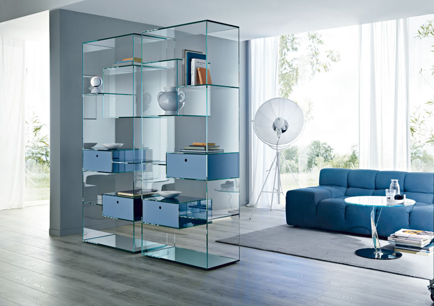 Liber B - Collection Exhibitor Bookcases by Tonelli Design | Tilelook