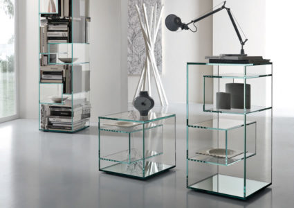 Liber H - Collection Exhibitor Bookcases by Tonelli Design | Tilelook