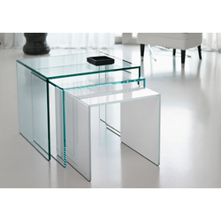 Trio - Collection Small-Beside Table by Tonelli Design | Tilelook