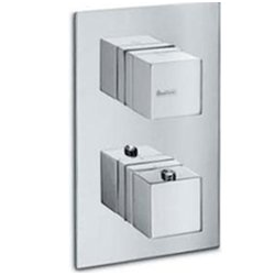 Concealed shower thermostat with shut-off Newform X-Sense