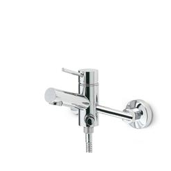 External parts for single lever shower mixer Newform X-Trend Kitchen