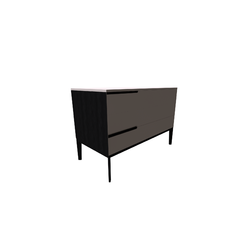 Mondrian Small Chest Of Drawers 102X50 H70  Natuzzi Night & Day Furniture
