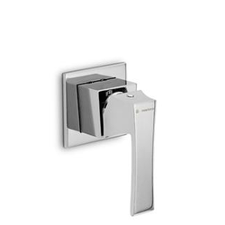 External parts for single lever shower mixer Newform Infinity