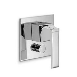 External parts for single lever bath mixer Newform Infinity