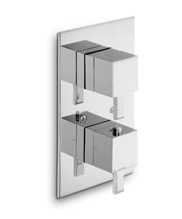 External parts for thermostatic mixer - Collection Infinity by Newform | Tilelook