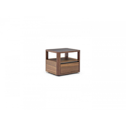 Cartesio Bedside Table 52X45  Natuzzi Night & Day Furniture