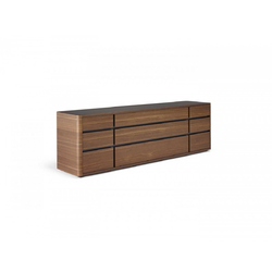 Cartesio Chest Of Drawers 220X50 H69  Natuzzi Night & Day Furniture