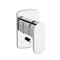 External parts for single lever bath mixer Newform X-Light