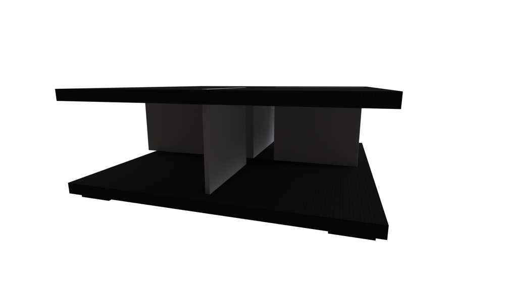 Kubika Central With Drawer 102X102H38 - Collection Coffee Tables de Natuzzi | Tilelook